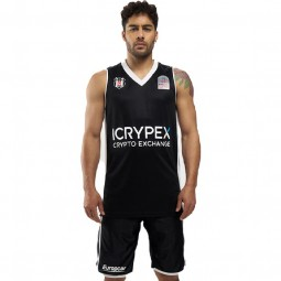 Besiktas Basketball-Trikot schwarz Super League Jersey