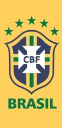 Brasilien Badetuch Strandtuch gelb