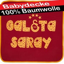 Galatasaray Babydecke, Krabbeldecke, Kuscheldecke