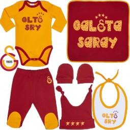 Galatasaray Erstlingsset für Neugeborene Baby-Kleidung