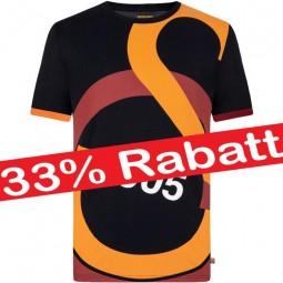 Sonderangebot Galatasaray Logo T-Shirt Fan-Tee Oberteil