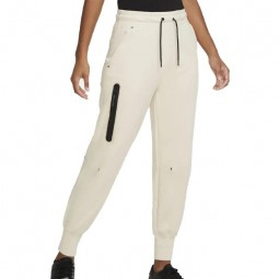 Nike Tech Fleece Pant Hose weiß-beige Damen Jogginghose