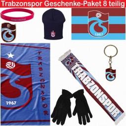 Trabzonspor Fanartikel Geschenke-Paket 8 teilig