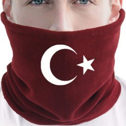 Türkei Flaggen Schlauchschal Mütze, Halstuch und Beanie