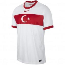 Türkei Nationalteam Heim-Trikot Nike weiss 2020-2021