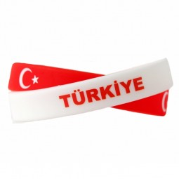 Türkei Armband-Set mit Flagge Fanartikel-Accessoires